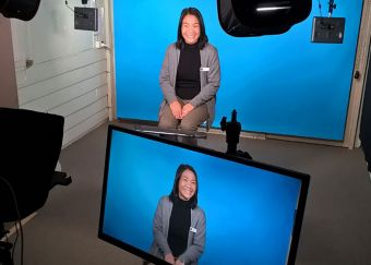 The Adelaide Deaf Community Church (ADCC) have set up their own in-house video studio.