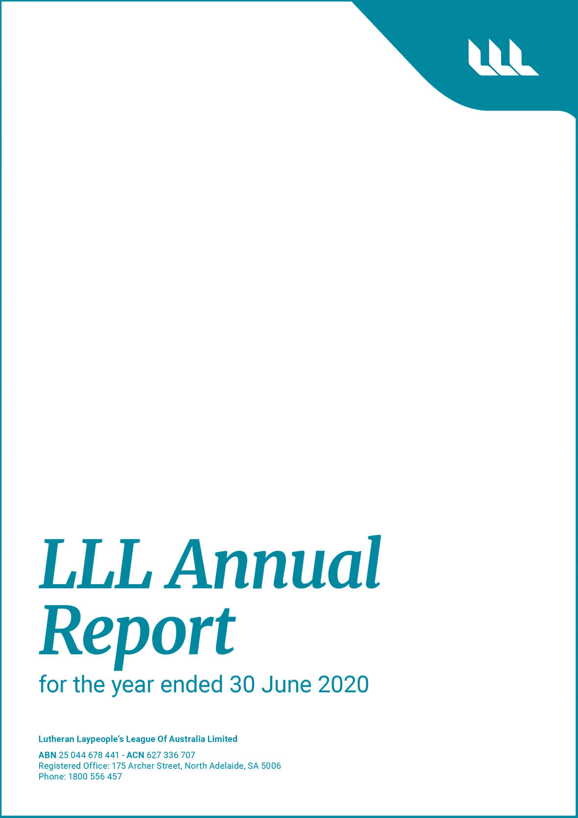 LLL Annual Report 201920