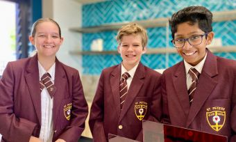 St Peter's Lutheran College Springfield new Junior High precinct complete thanks to LLL loan 3