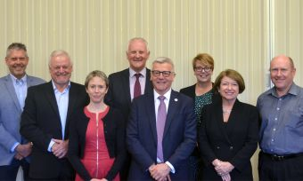 LLL Board members and Ross Smith new LLL CEO